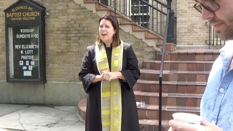 Bible denying Baptist EUNUCHS defend Woman Pastor!