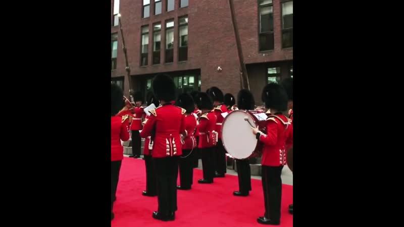 Инсталляция ГП в Лондоне 2018: Выступление оркестра