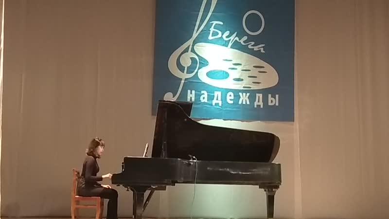 Василина Бородёнок, конкурс Берега надежды, 03.02.2019