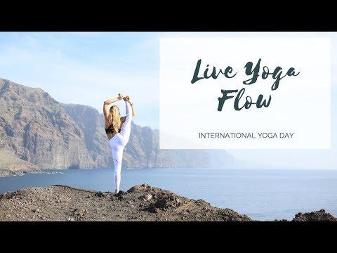 45-MINUTE VINYASA FLOW: International Yoga Day LIVE
