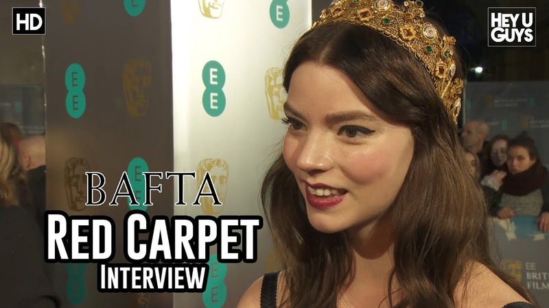 Anya Taylor-Joy (Split, Glass, X-Men: New Mutants) - BAFTA Awards 2018 Red Carpet Interview