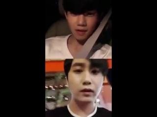 [180925] SS501 HEO YOUNG SAENG  PARK JIBIN IG LIVE _허영생  박지빈 인스타그램 라이브 (2)