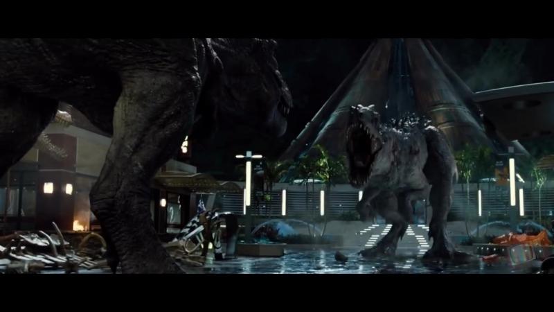 Динозавры слетели с катушек Мир Юрского периода 2015