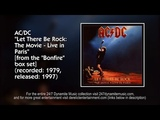 ACDC - Let There Be Rock The Movie - Live in Paris (1979) FULL LIVE ALBUM