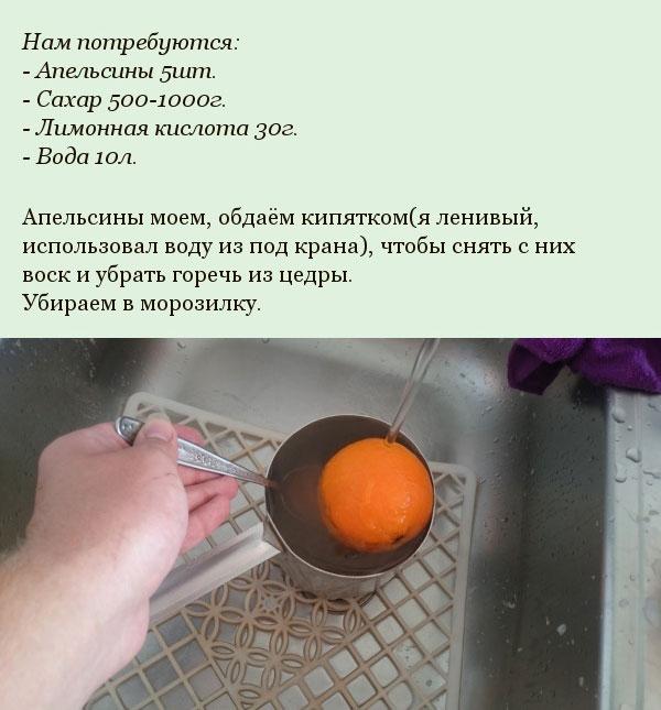 Варенье из пяти апельсинов