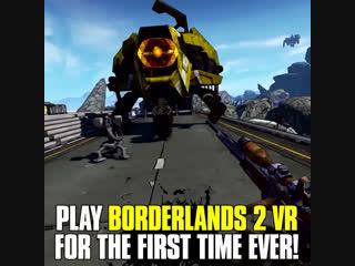 Borderlands 2 vr на twitchcon 2018