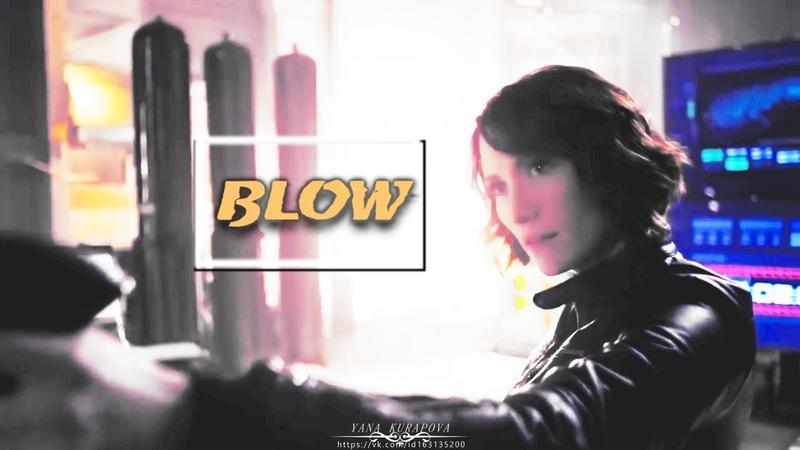 Supergirl ✯ Alex Danvers ✯ Chyler Leigh ✯ Blow