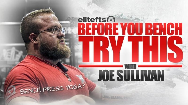 Bench Press Warm-Up with Joe Sullivan   elitefts.com
