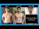 100 days After One Punch Man Workout I trained like superhero for 100 Days