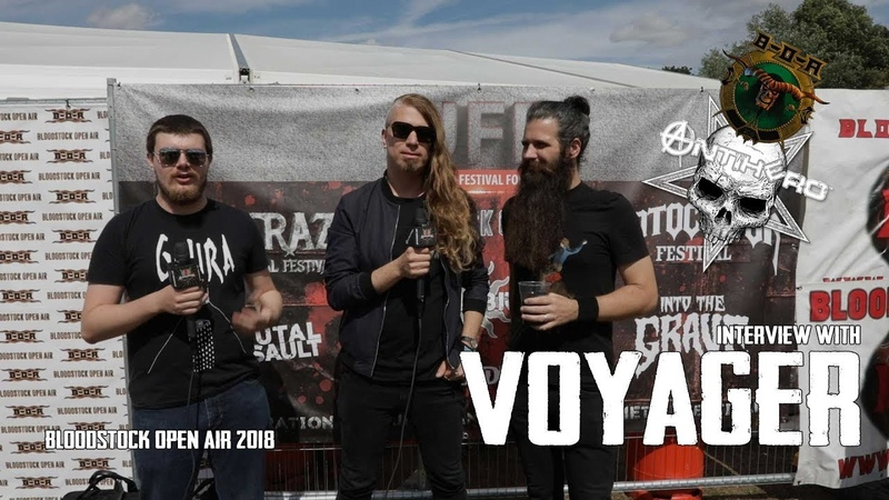 Interview with Voyager at Bloodstock Open Air 2018