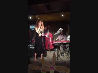 Полина Шараева в джаз-кафе Underground 17 ноября
