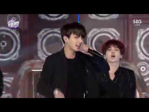 [251218] 2018 SBS Gayo Daejun - BTS Perfomans [HD]