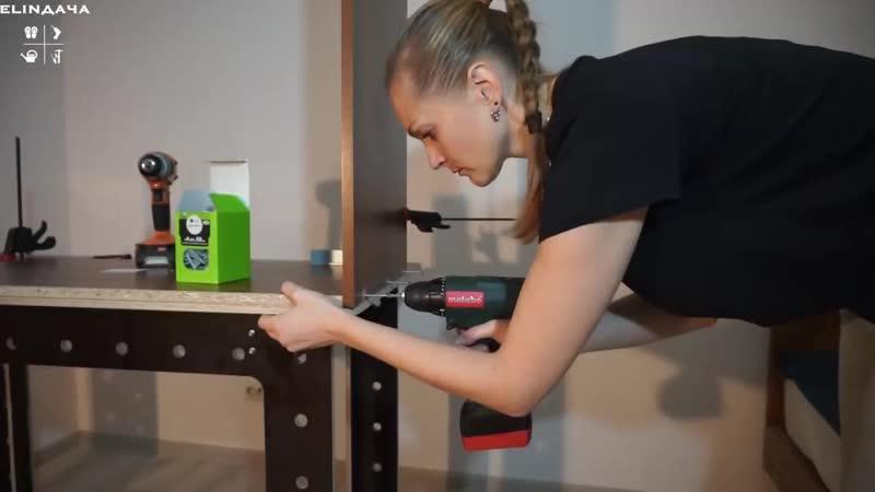 Проектирование мебели. Расчет и сборка комода женскими руками