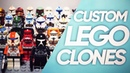 All My LEGO Star Wars Custom Clone Troopers Collection | Все Мои Кастомные ЛЕГО Клоны | Коллекция