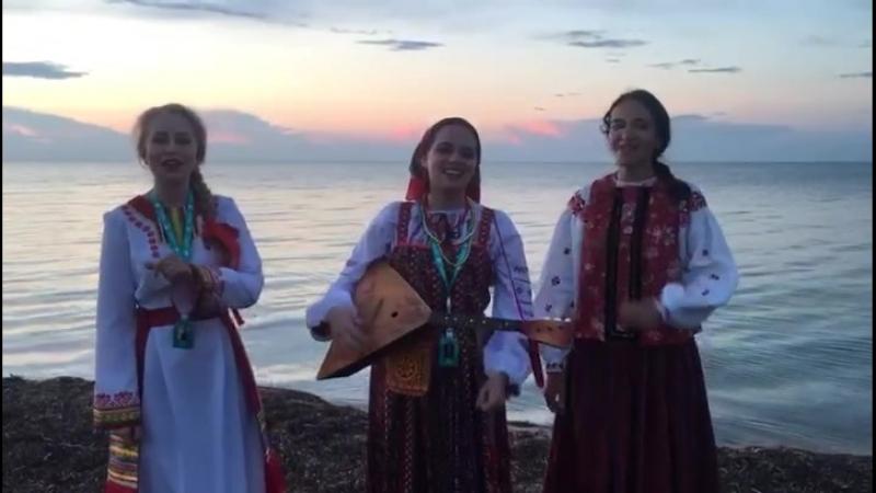 Луганяса келунесь Мордовская народная песня На лугу березонька