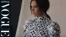 Behind the scenes of Victoria Beckham's cover shoot for Vogue Australia August 2015 issue