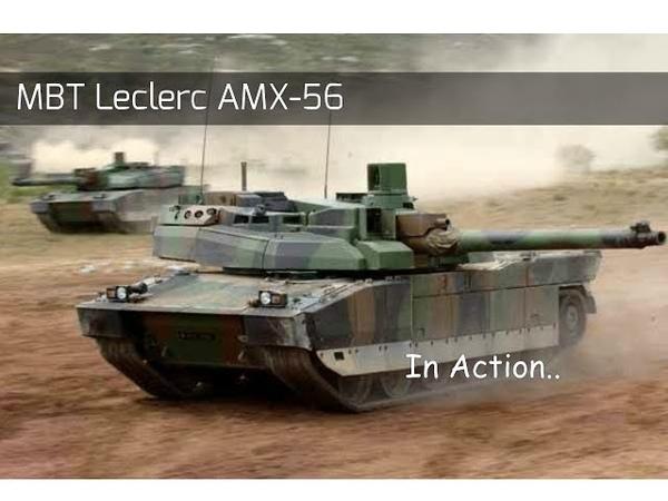 MBT LECLERС AMX-56 в действии. Демонстрация силы !