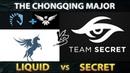 LIQUID vs SECRET Battle of LEGENDS - Liquid with New TI Winner Standin instead of Miracle - Dota 2