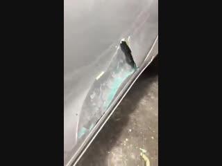 Килограммы шпаклевки при ремонте автомобиля XD /Авто Нация