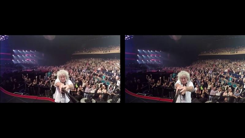 Selfie stick from Queen Adam Lambert The Crown Jewels Live @ Park MGM Theatre, Las Vegas, 22nd Sep