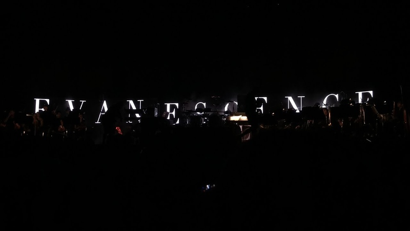 Evanescence - Toronto - July 27, 2018 - Heart is Broken, Lithium Bring Me To Life