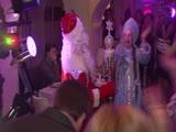 Наш Дед Мороз - В лесу родилась ёлочка - артисты оригинального жанра Александр и Елена Турабовы.