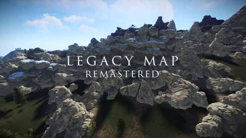 Legacy Map Remastered by The Horde