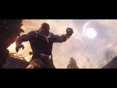 Avengers: Infinity War - Thanos Throws A Moon [1080p]