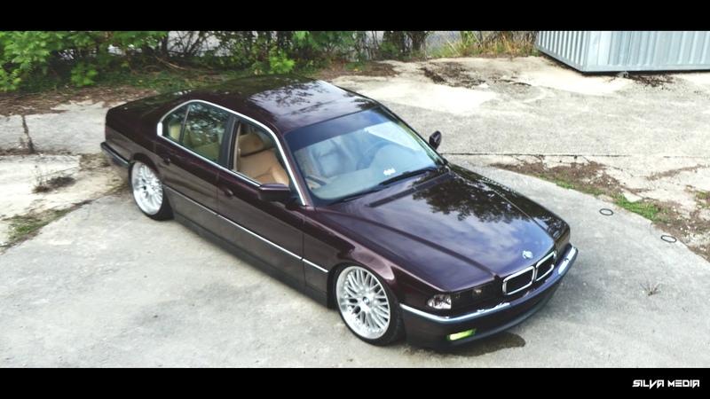 BMW 740i Static Vs BMW E46 Bagged WARNING PORNCAR