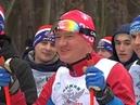 Роман Старовойт принял участие в соревнованиях «Лыжня России-2019»