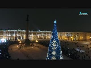 Елочка, гори! Как Дед Мороз из Великого Устюга зажигал главную елку Петербурга