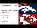 Week 8. Denver Broncos @ Kansas City Chiefs | Madden NFL 19