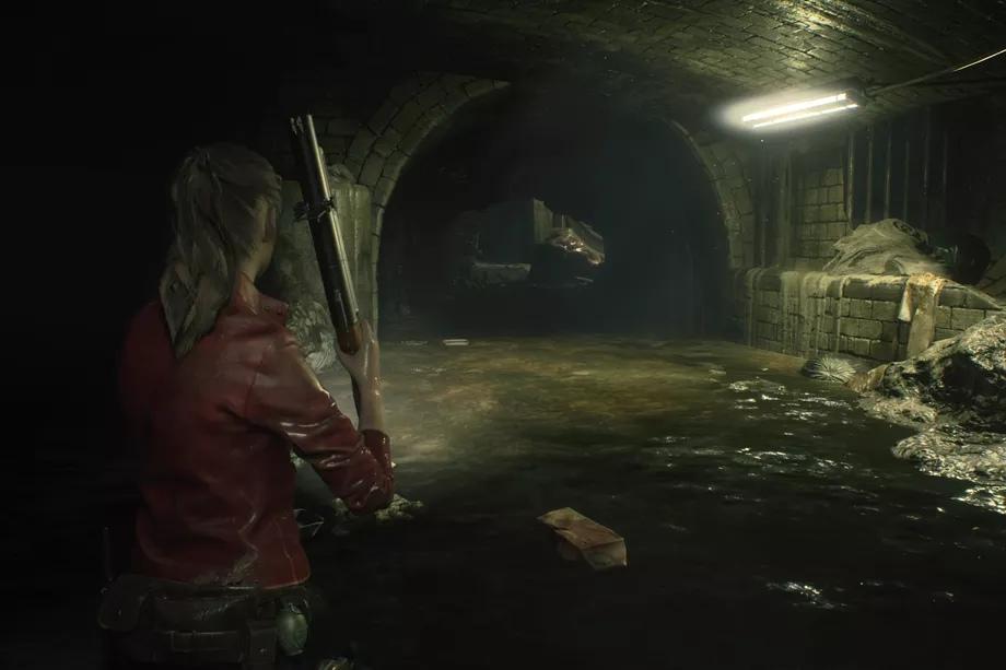 Resident Evil 2 Remake - Прохождение за Клэр. Часть 5: Загадка канализации и шахмат, Спасение Шерри.