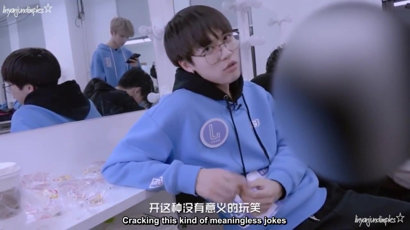 [Eng sub] He is You Zhangjings favorite trainee, Lin Yanjuns anger turned him into bread monster