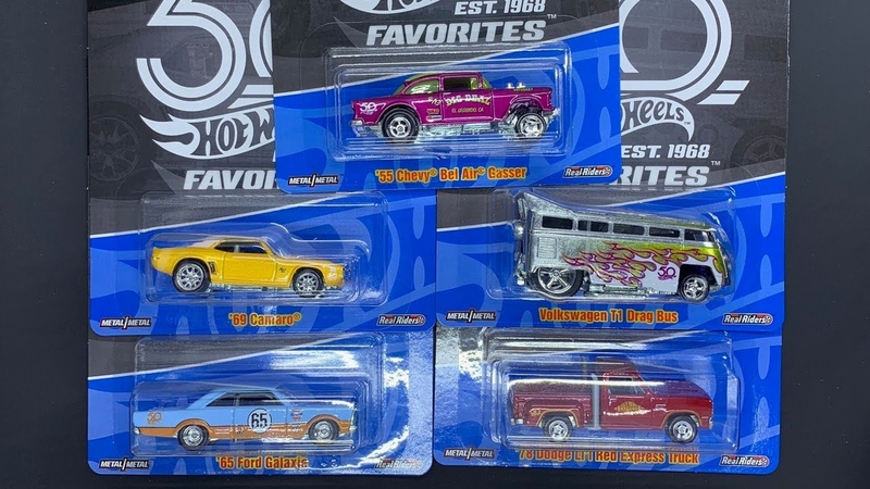 Lamley Showcase: Hot Wheels 50th Favorites Batch B (found at Target!)