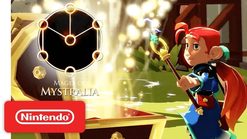 Mages of Mystralia - Трейлер анонса (Nintendo Switch)