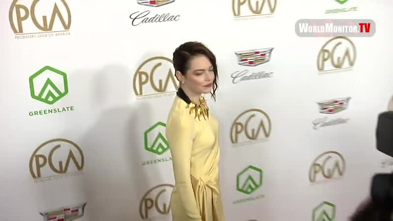 Emma Stone arrives at 30th Annual Producers Guild Awards