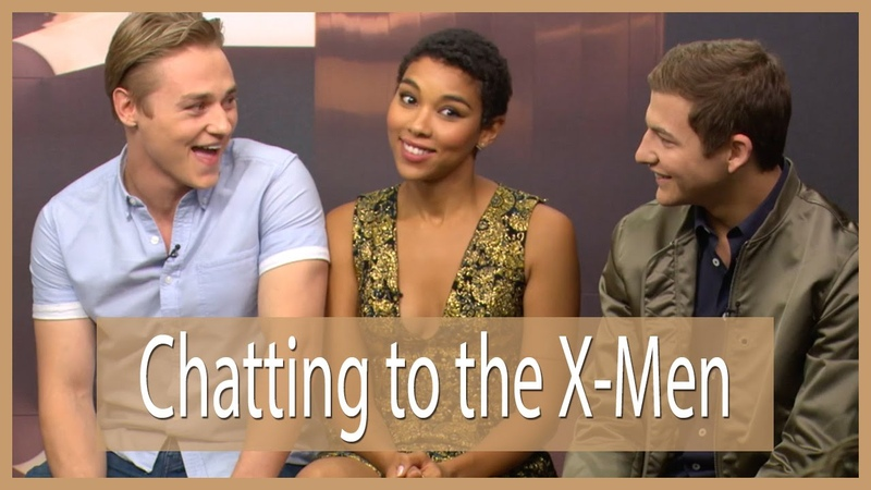 Chatting to the X-Men!