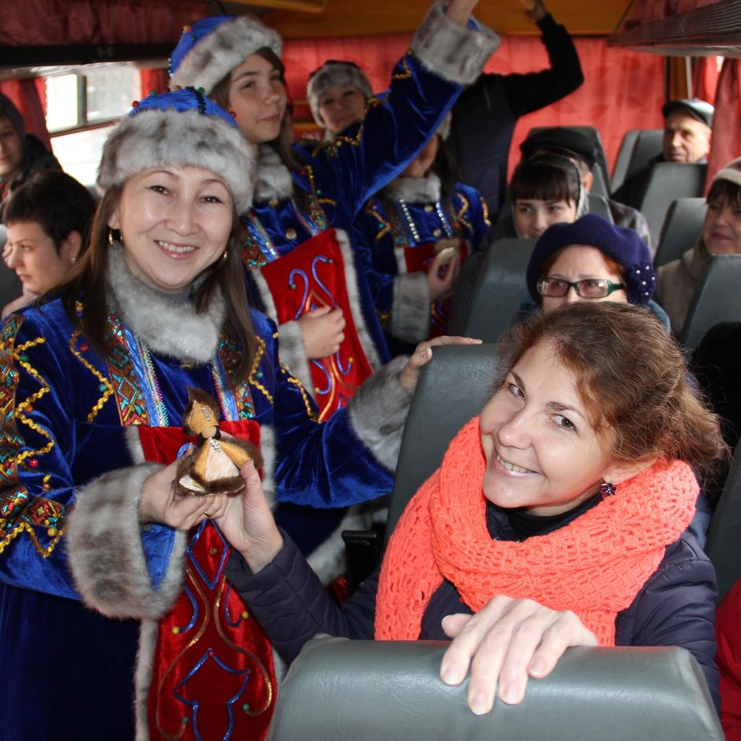 Маршрут дружбы в День народного единства в Белове, 2018 год