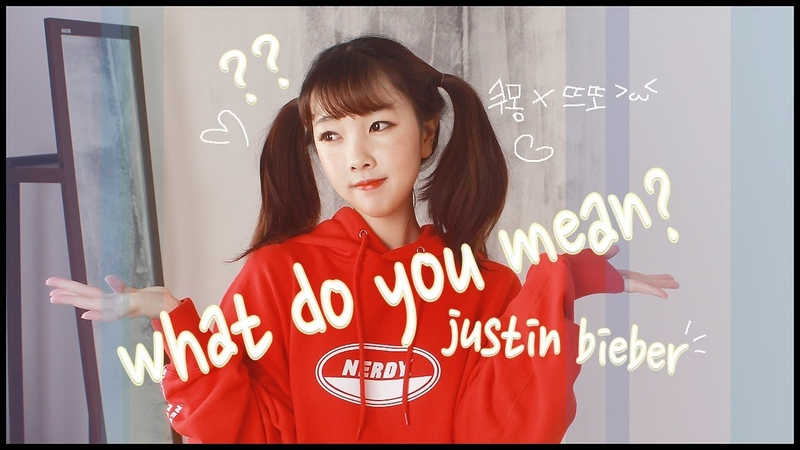 Justin Bieber (저스틴 비버) - What Do You Mean COVER 노래커버 [CVS]