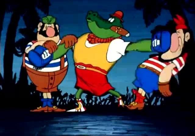 Roy Jones Jr Crocodile