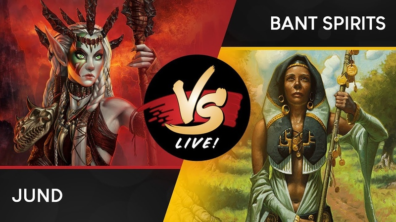 VS Live!   Jund VS Bant Spirits   Modern   Match 2