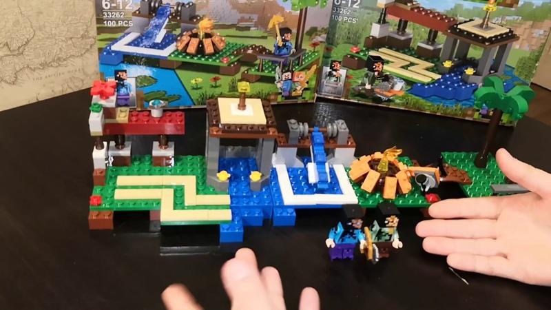 LELE 33262 Minecraft Водохранилище
