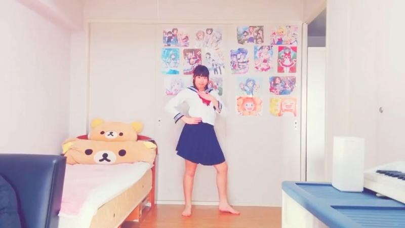 【JCがセーラー服で】キラリ☆ω★NyanRISE!踊ってみた【ひな】 sm33715793