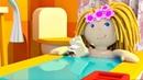 Cartoni animati per bambini. La casa delle Bambole. Nuovi episodi