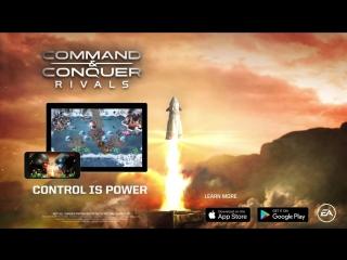 Дебютный трейлер игры Command & Conquer: Rivals на E3 2018!