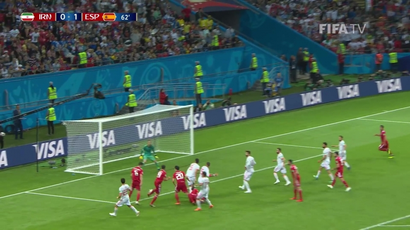 ЧМ 2018 | 2 тур | Группа B | Иpaн - Иcпaния | 0:1 (0:0) | обзор матча (FIFA) [1080]