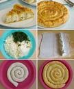 Вкуснейший слоеный пирог с творожно-сырной начинкой