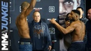 Bellator 216: Michael Page, Paul Daley Ceremonial Weigh-in Face-off
