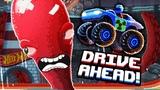 КРУТЫЕ ТАЧКИ против ОГРОМНОГО ОСЬМИНОГА Битва за машинки Хот Вилс в мульт игре Drive Ahead
